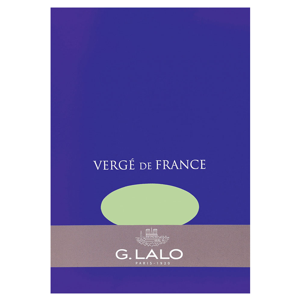 G. Lalo Pistachio Writing Tablet 5.75X8.25 IN
