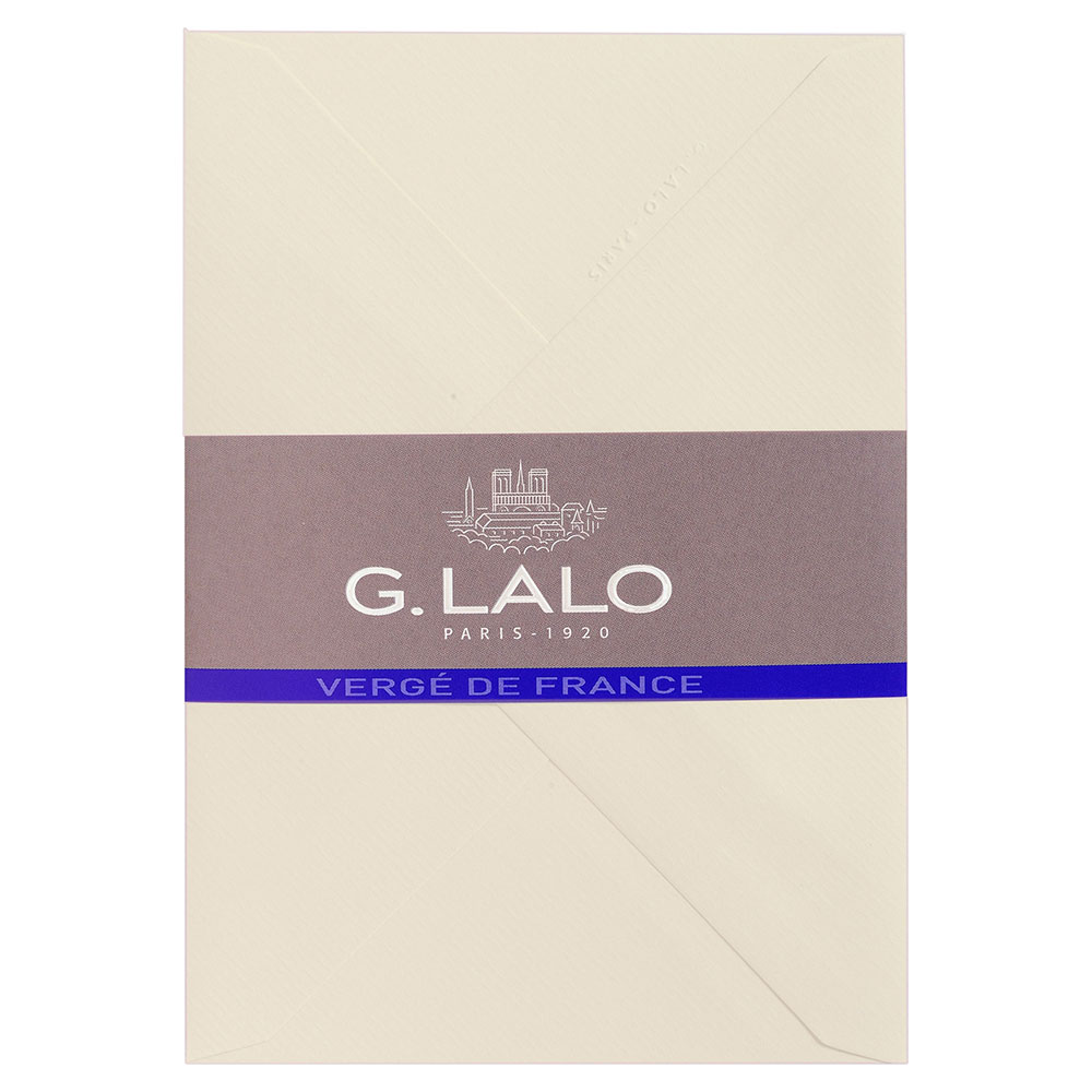 G. Lalo Ivory Envelope 4.5X6.25 IN