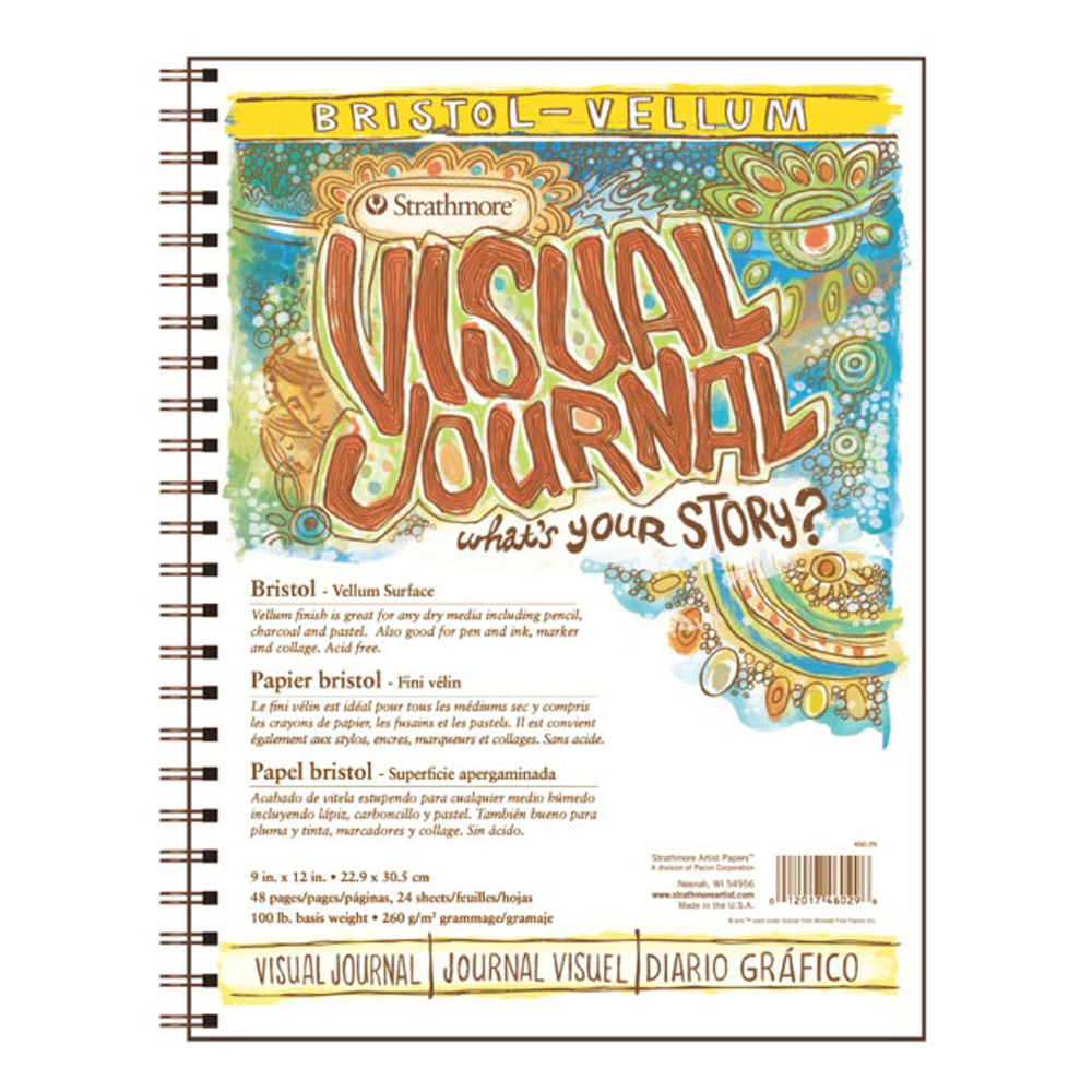 Strathmore Visual Journal Bristol Vlm 9X12