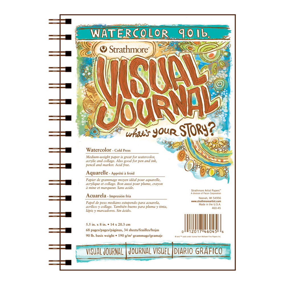 Strathmore Visual Journal W/C 90Lb 5.5X8