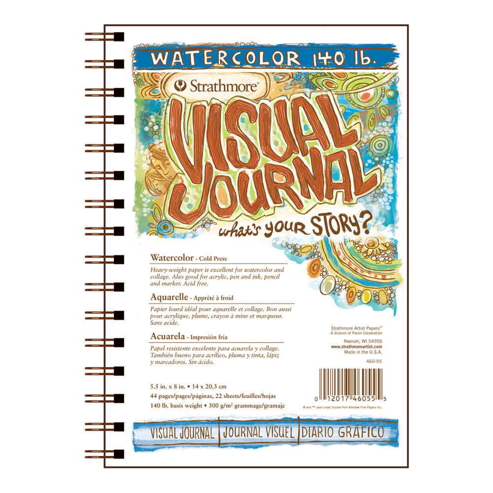 Strathmore Visual Journal W/C 140Lb 5.5X8