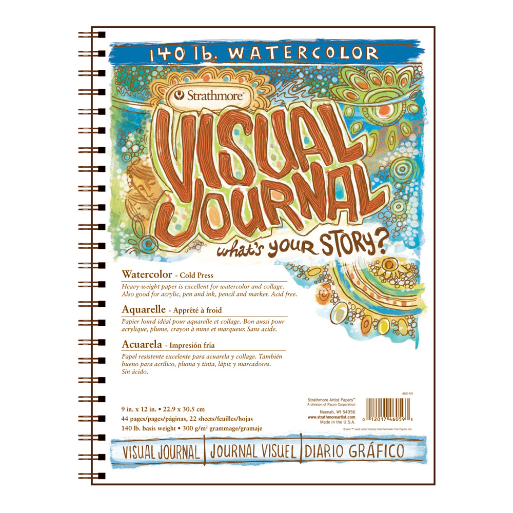 Strathmore Visual Journal W/C 140Lb 9X12