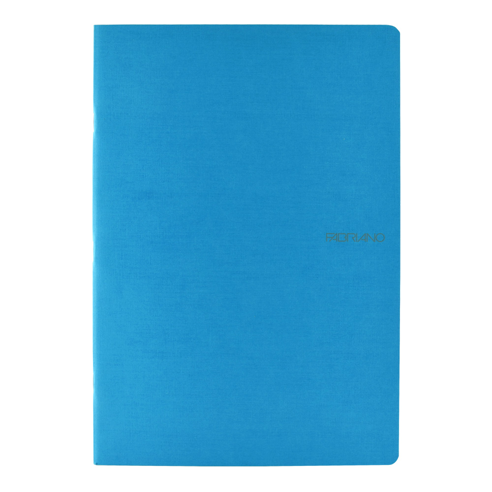 Ecoqua Grid Notebook 8.25X11.7 Navy