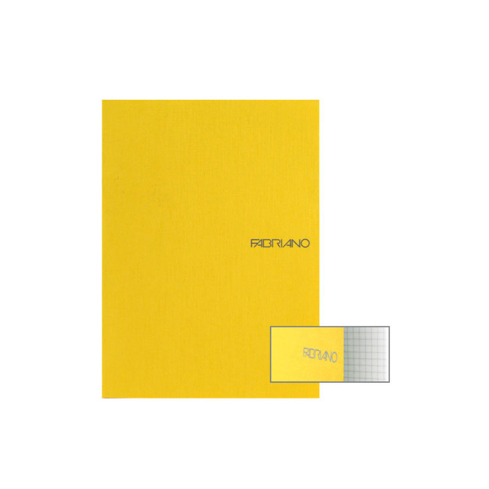 Ecoqua Grid Notebook 8.25X11.7 Lemon