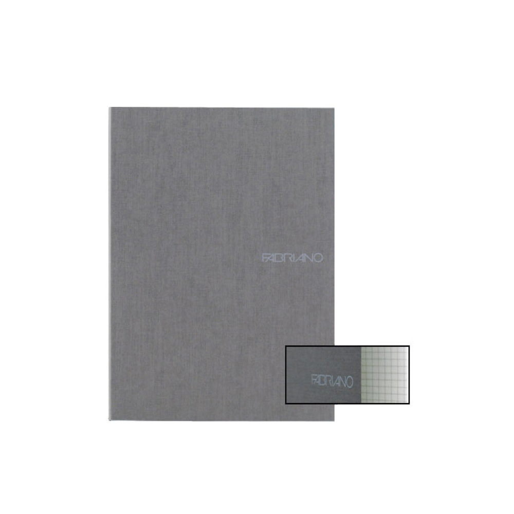 Ecoqua Grid Notebook 8.25X11.7 Stone