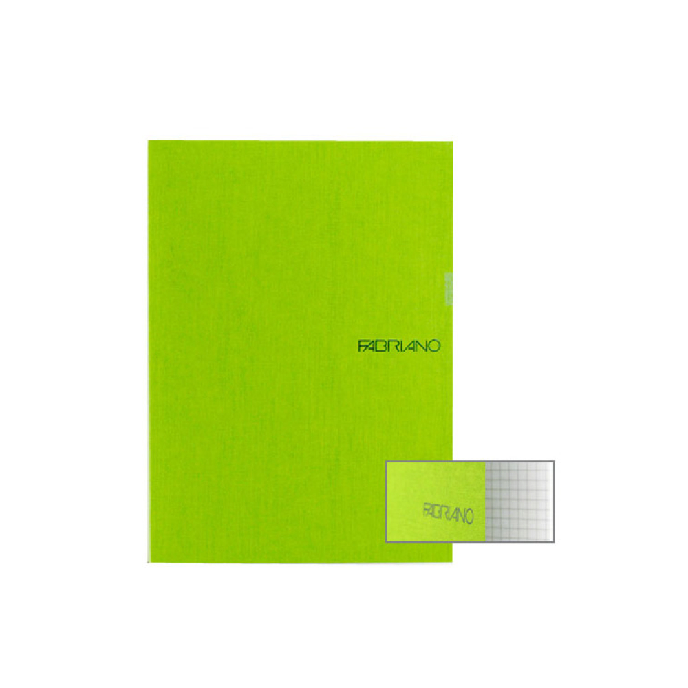 Ecoqua Grid Notebook 8.25X11.7 Lime