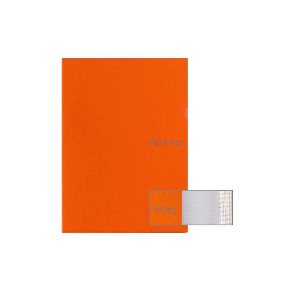 Ecoqua Dot Notebook 5.8X8.25 Orange
