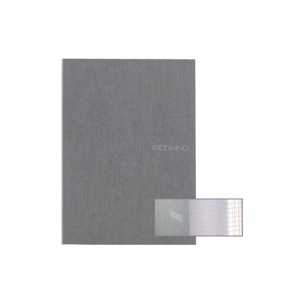 Ecoqua Dot Notebook 5.8X8.25 Stone