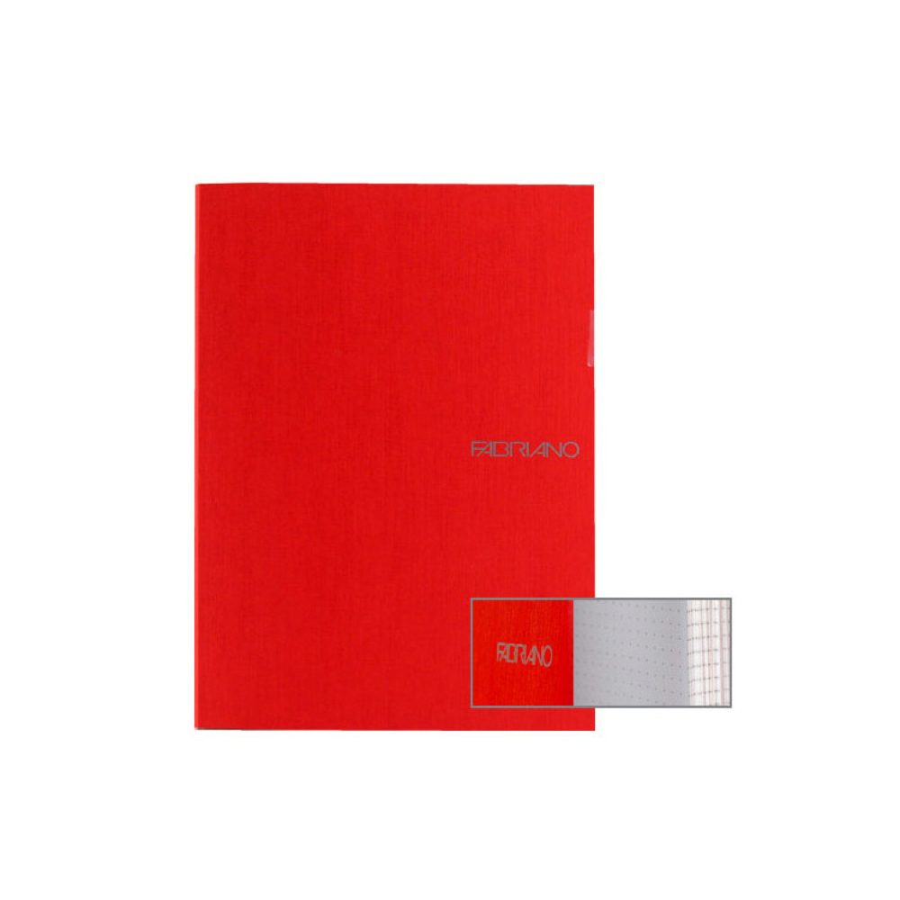 Ecoqua Dot Notebook 8.25X11.7 Raspberry