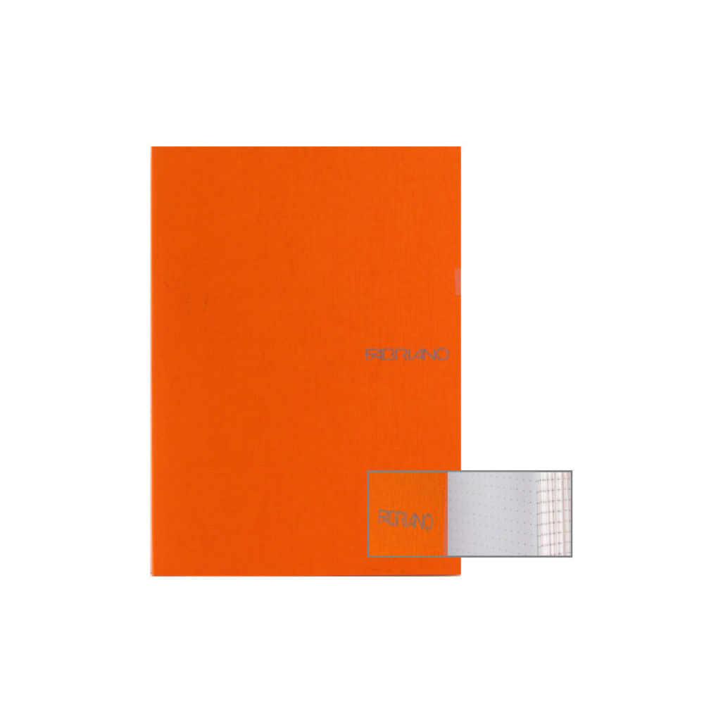 Ecoqua Dot Notebook 8.25X11.7 Orange