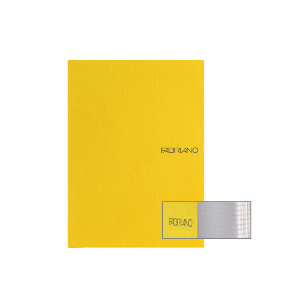 Ecoqua Dot Notebook 8.25X11.7 Lemon