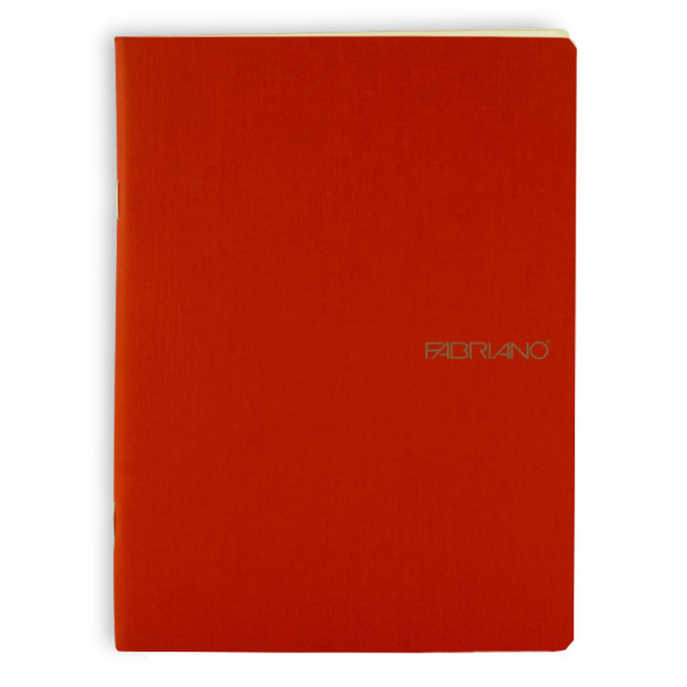 Ecoqua Blank Notebook 5.8X8.25 Raspberry