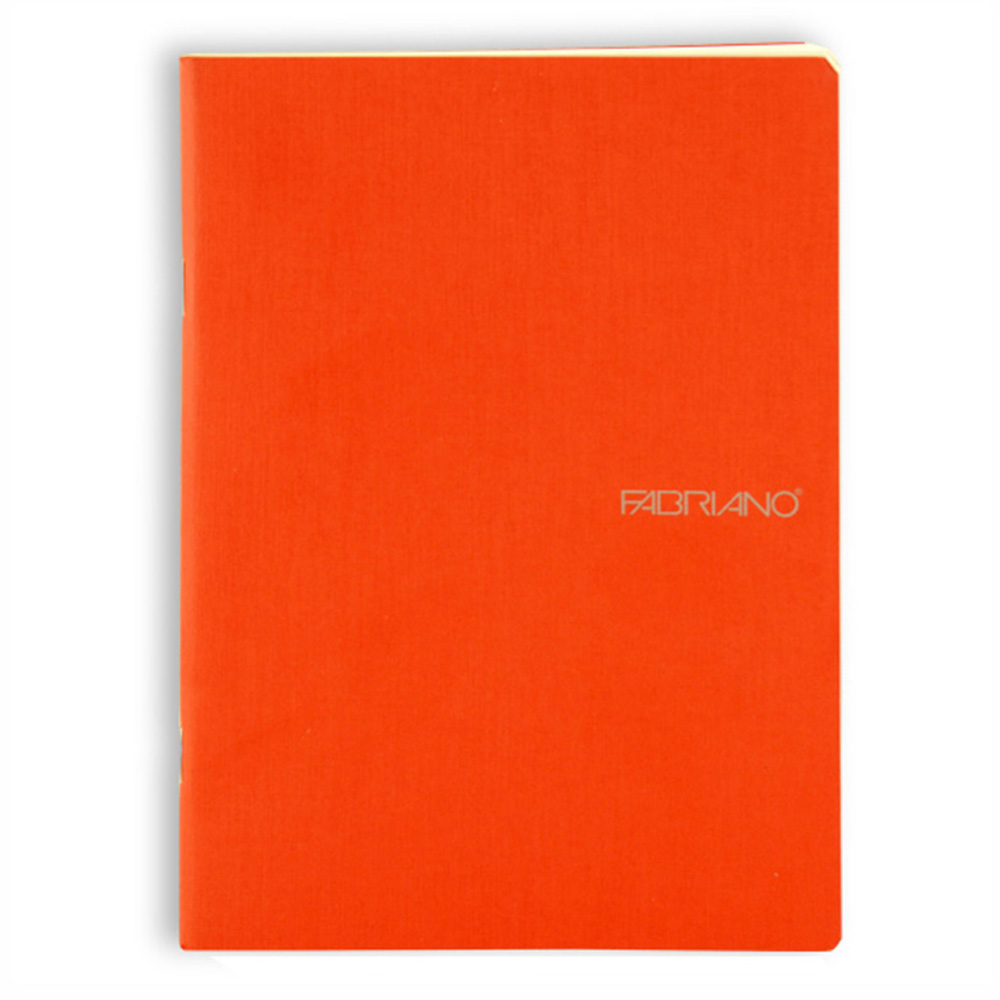 Ecoqua Blank Notebook 5.8X8.26 Orange