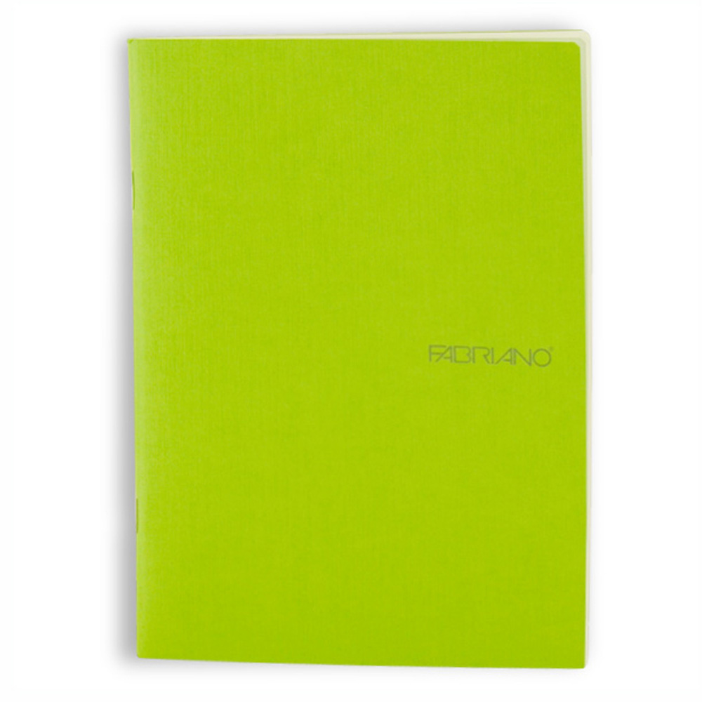 Ecoqua Blank Notebook 5.8X8.25 Lime