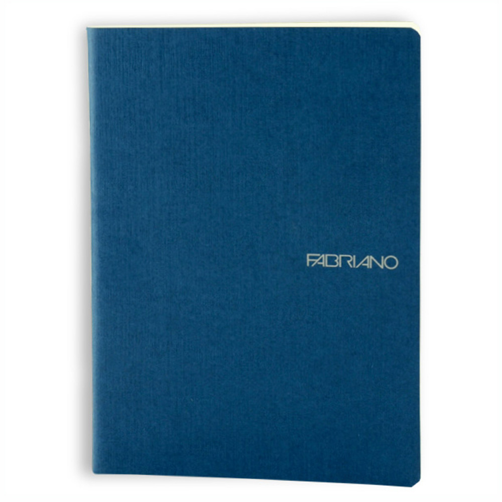 Ecoqua Blank Notebook 5.8X8.25 Navy