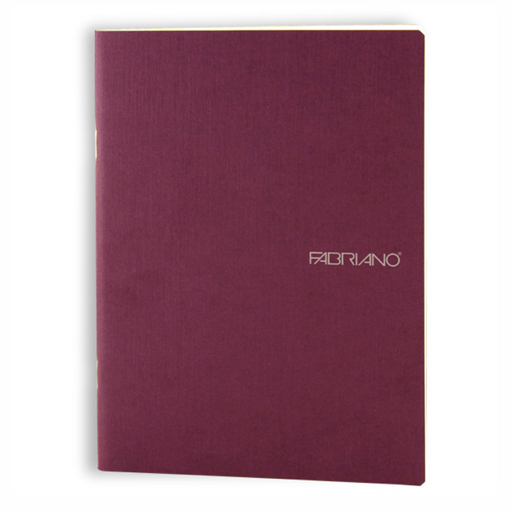Ecoqua Blank Notebook 5.8X8.25 Wine