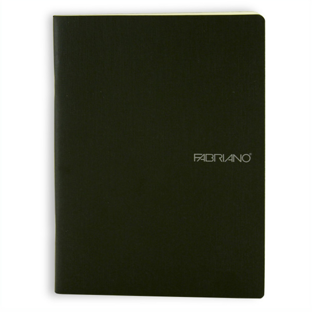 Ecoqua Blank Notebook 5.8X8.31 Black