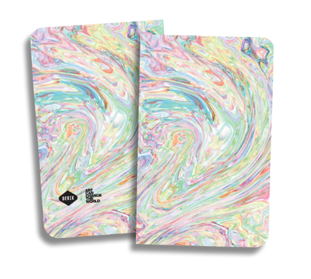 Denik Ice Cream Swirl Notebook 5.25X8.25 Inch