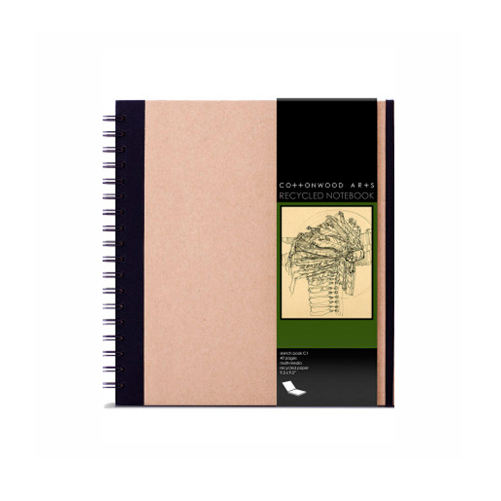 Cottonwood Recycled Notebook 9.5X9.5
