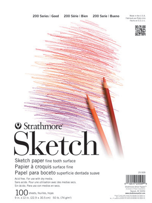 Strathmore 200 Taped Sketch Pad 11X14