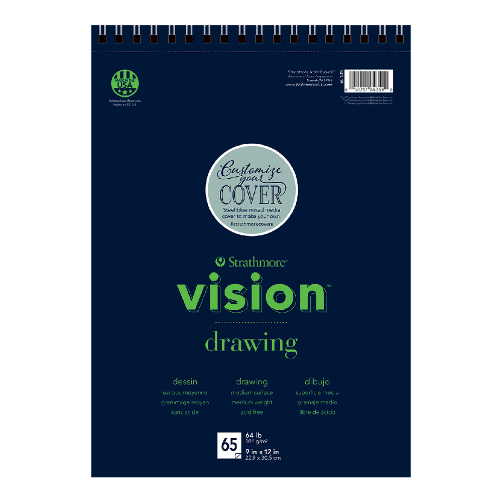 Strathmore Vision Custom Drawing Pad 9x12