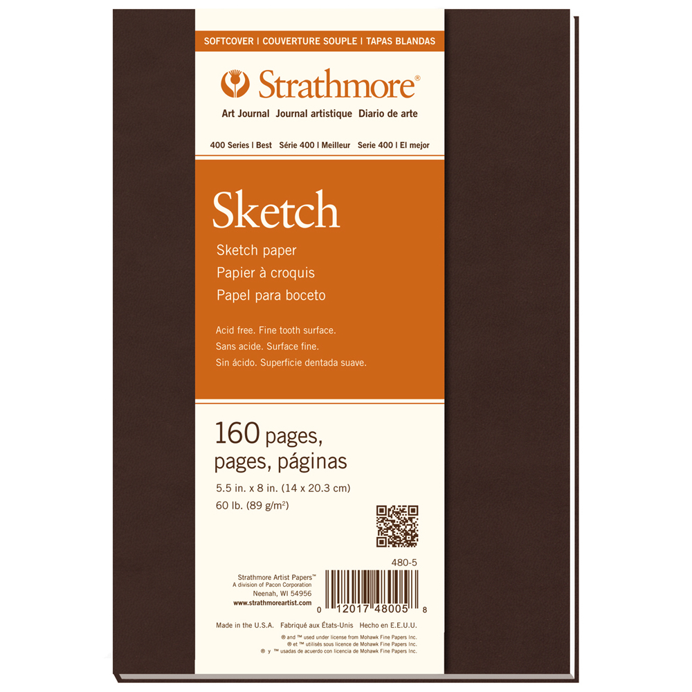 Strathmore 400 Softcover Sketch 5.5X8