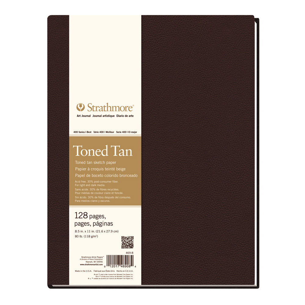 Strathmore Toned Tan Sketch Journal 8.5X11