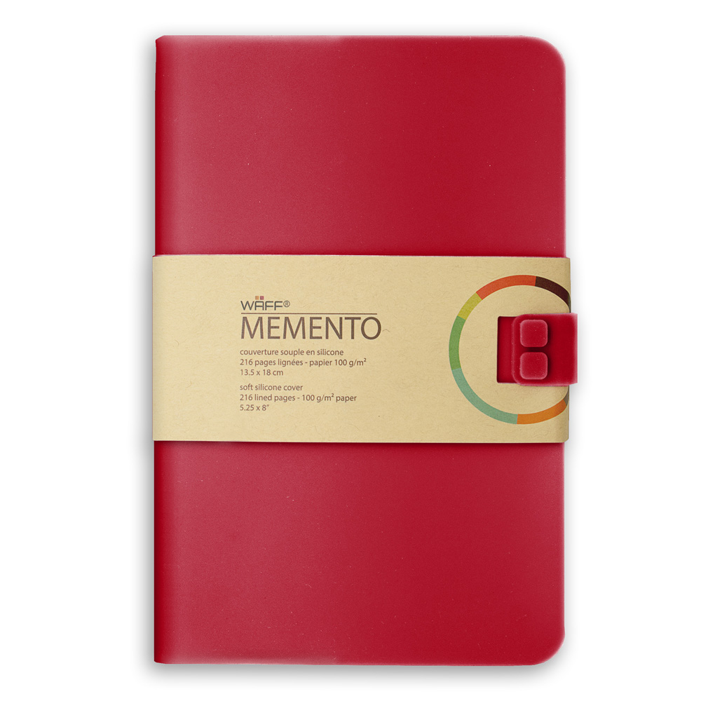 Memento Large Journal Red Wine 5.75X8.25