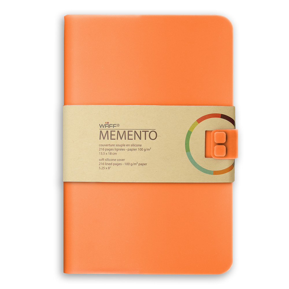 Memento Large Journal Coral 5.75X8.25