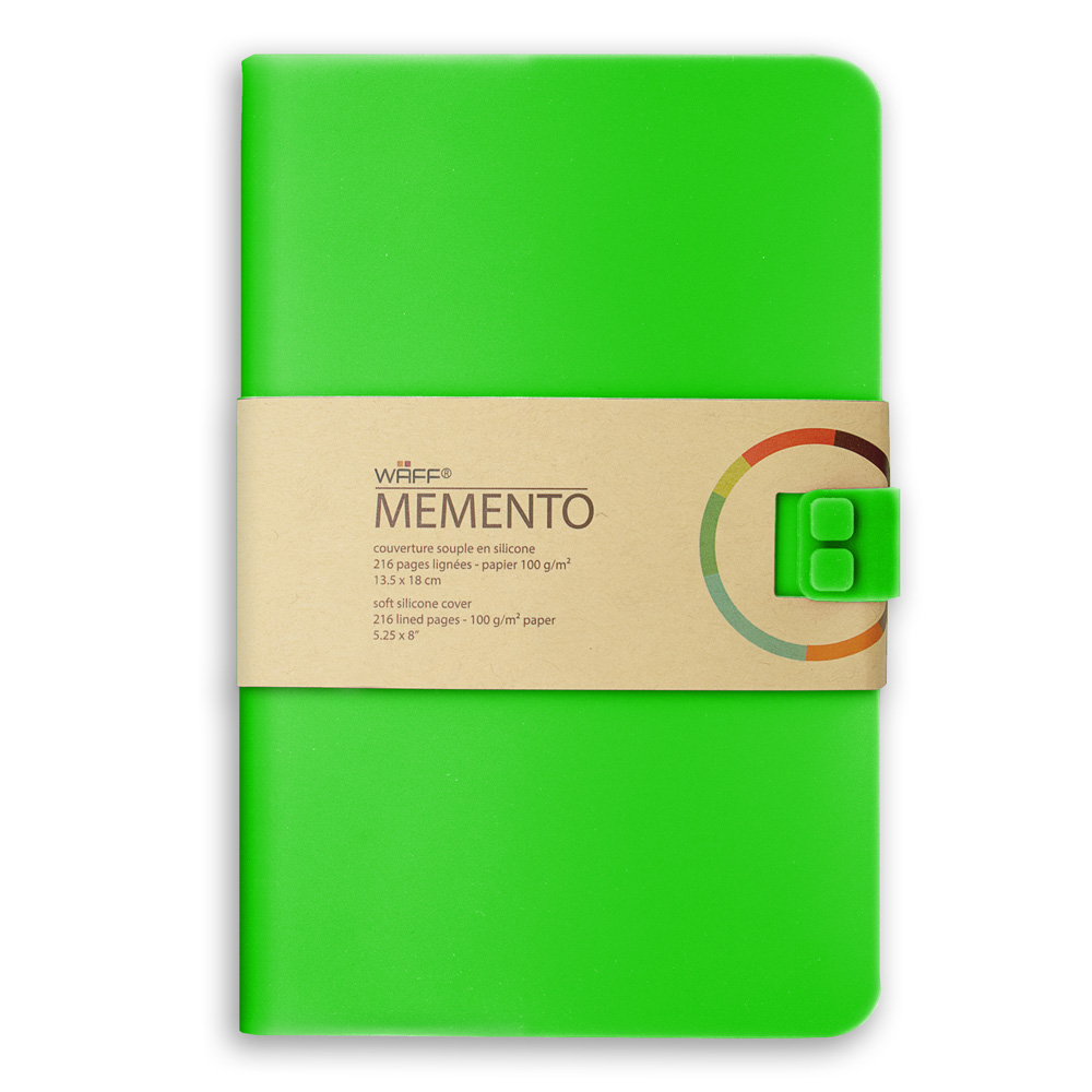 Memento Large Journal Emerald Green 5.75X8.25