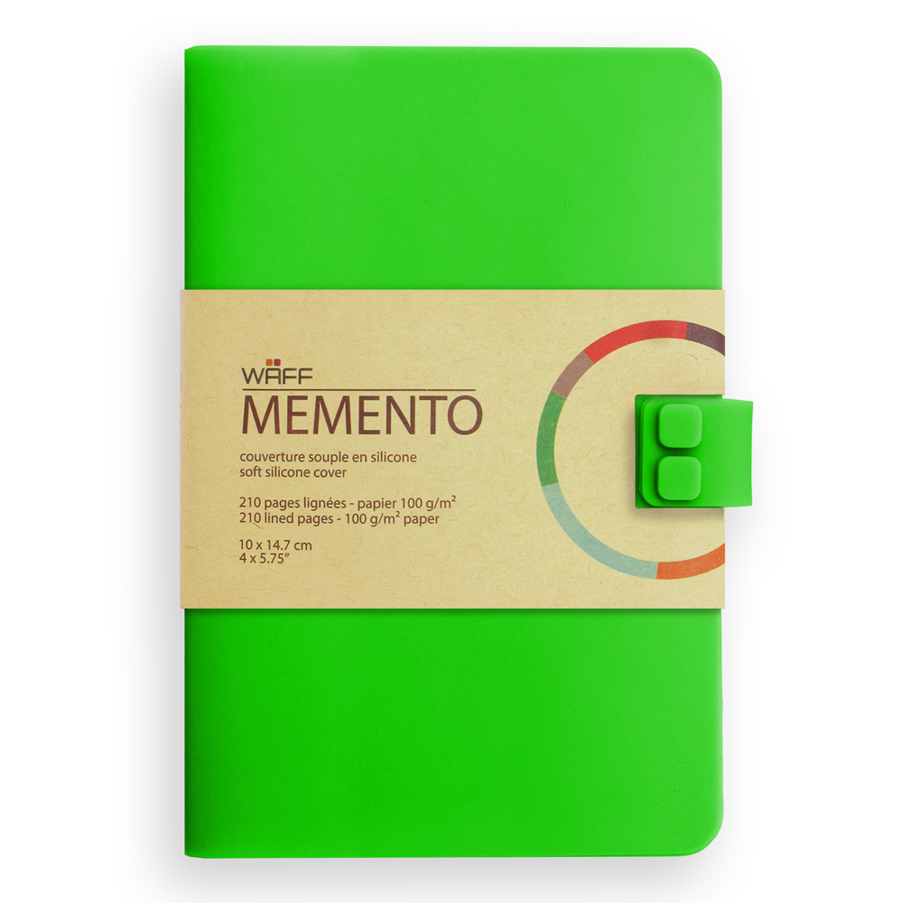 Memento Medium Journal Emerald Green 4X5.75