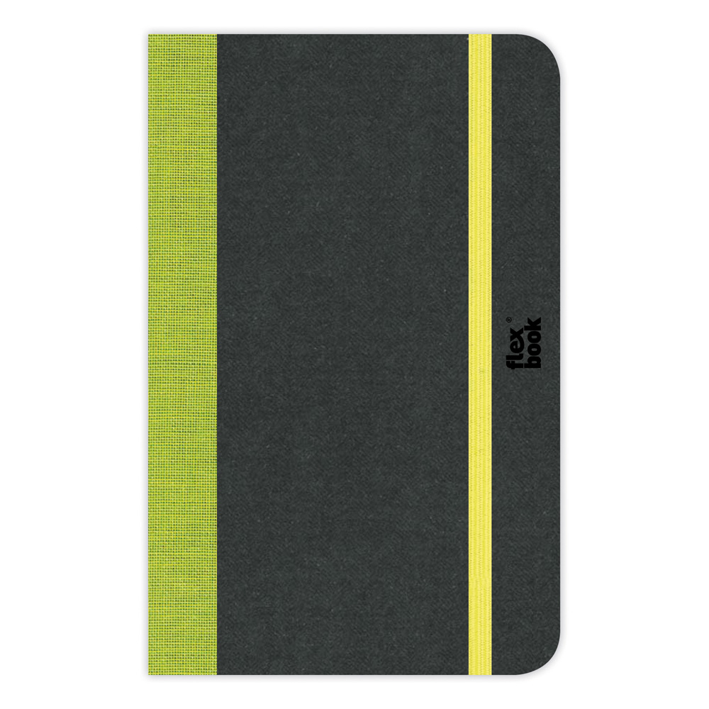 Flexbook Blank Notebook 6.75X9.5-Lime Green