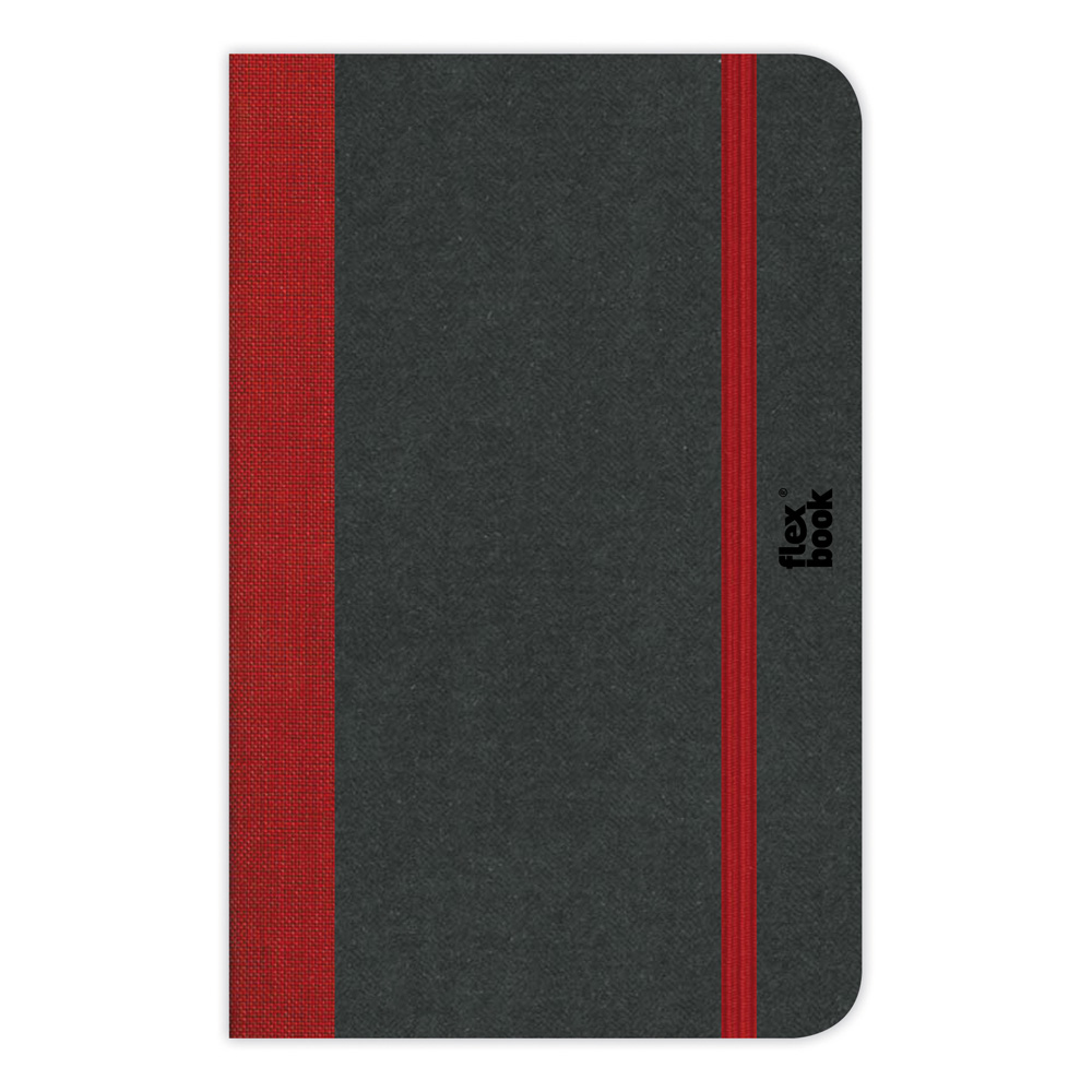 Flexbook Blank Notebook 3.5X5.5-Red