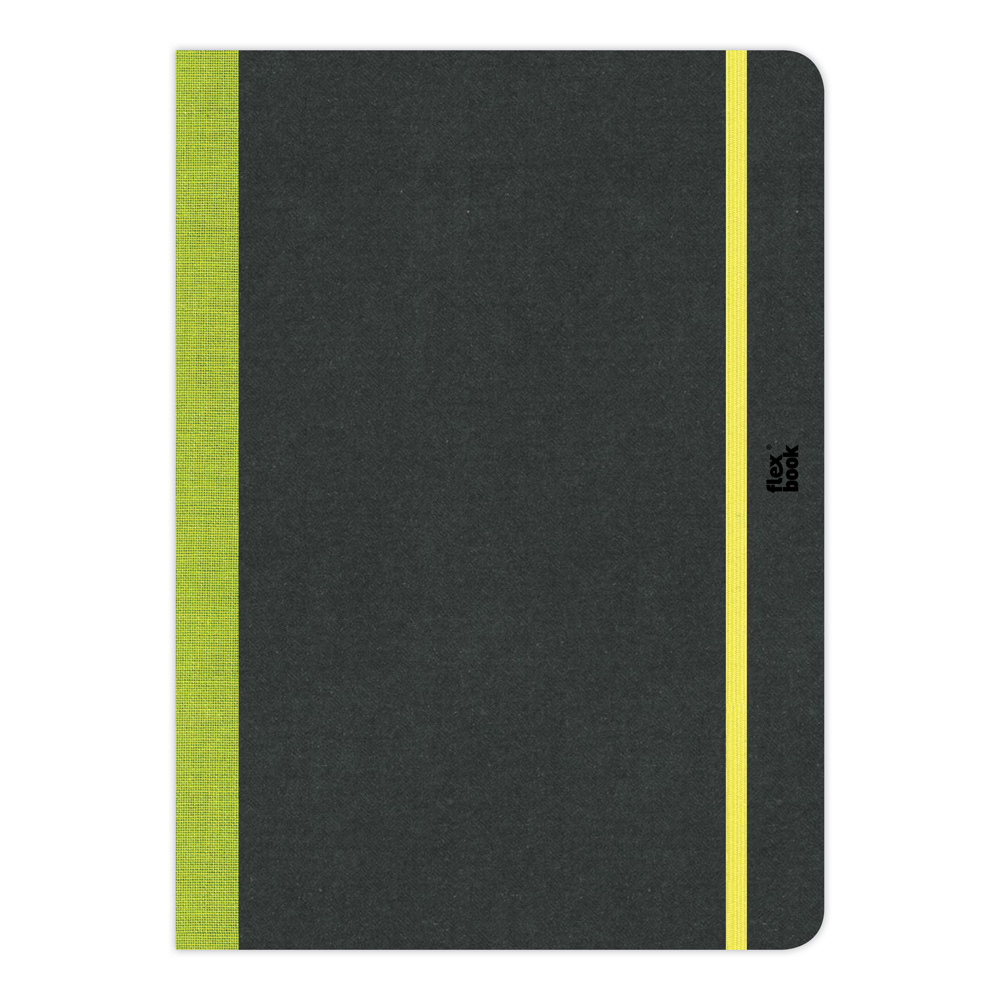 Flexbook Sketchbook 8.5X12.25-Lime Green