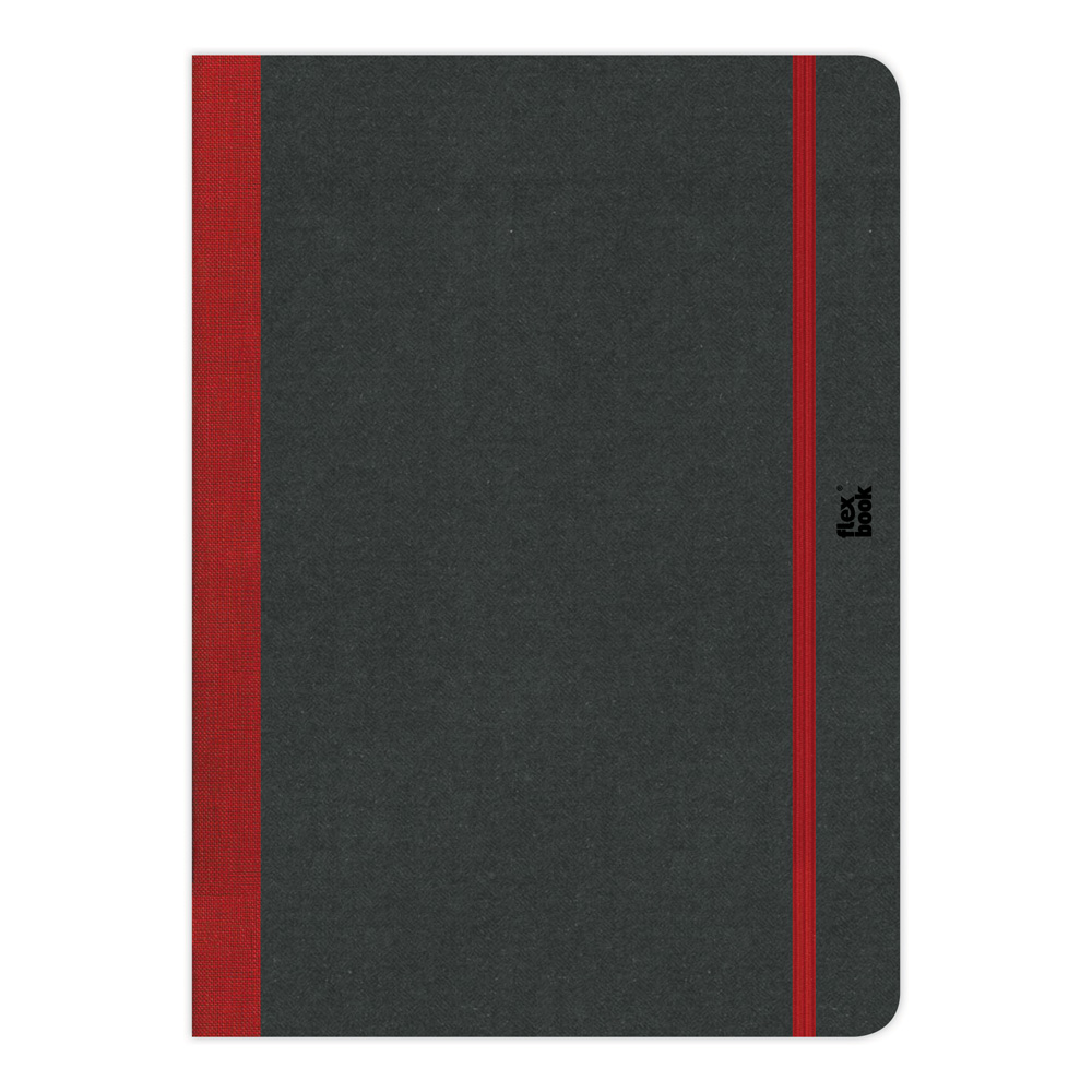 Flexbook Sketchbook 8.5X12.25-Red