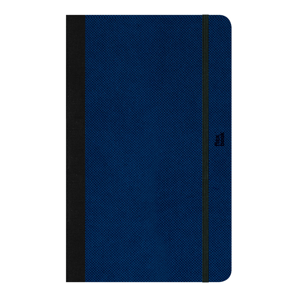 Flexbook Adventure Ntbk 5X8.25 Dot Royal Blue