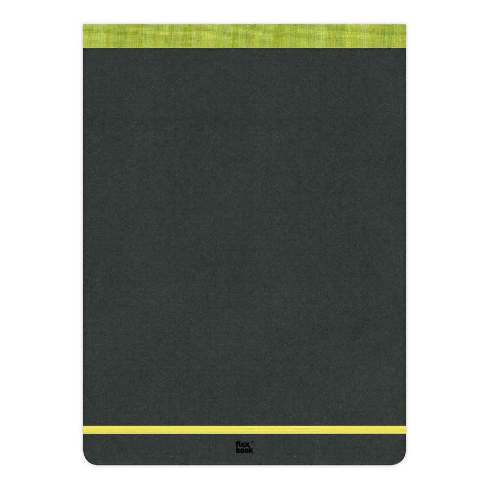 Flexbook Ruled Notepad 8.25X11 Perfd-Lime Grn