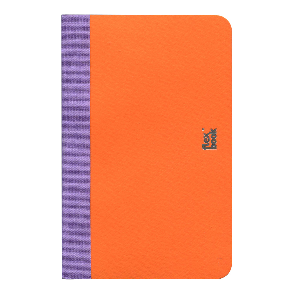Flexbook Smartbook 3.5X5.5 Lined Orange