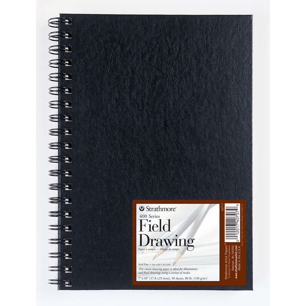 Strathmore Field Drawing Book Cream 7X10
