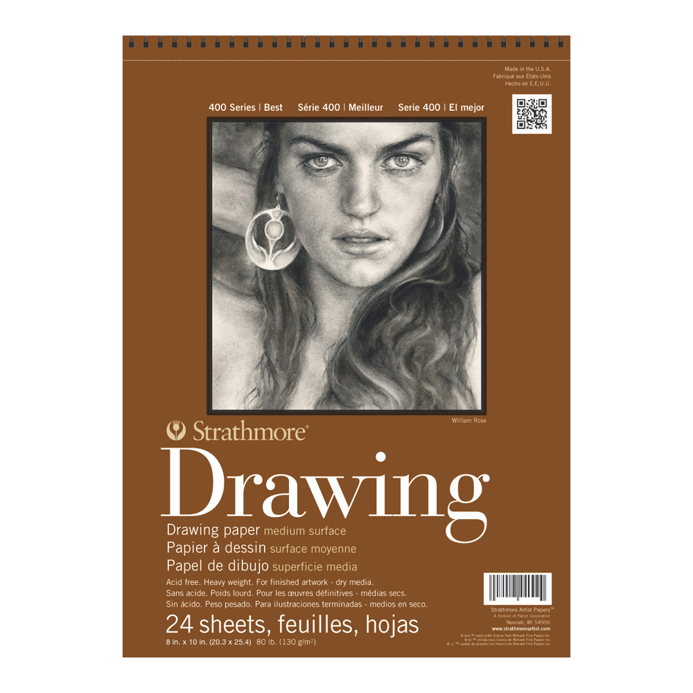 Strathmore 400 Drawing Pad 8X10