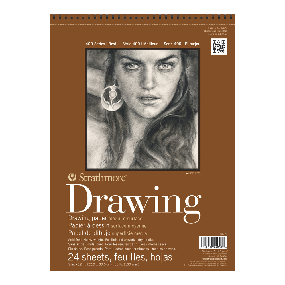 Strathmore 400 Drawing Pad 9X12