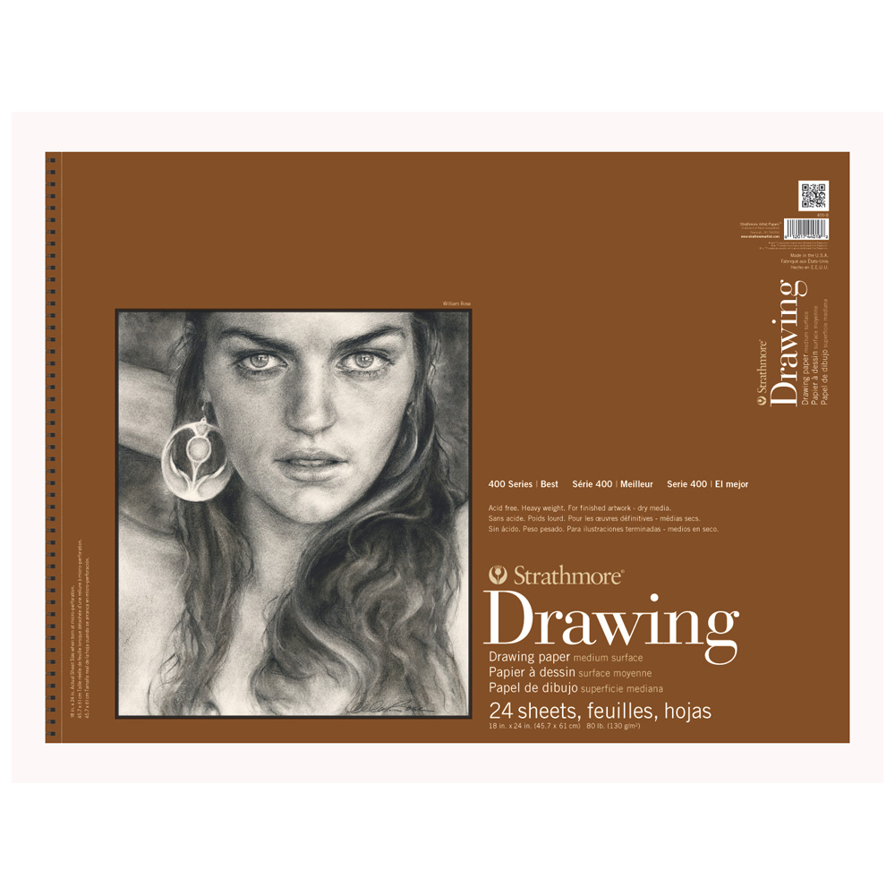Strathmore 400 Drawing Pad 18X24