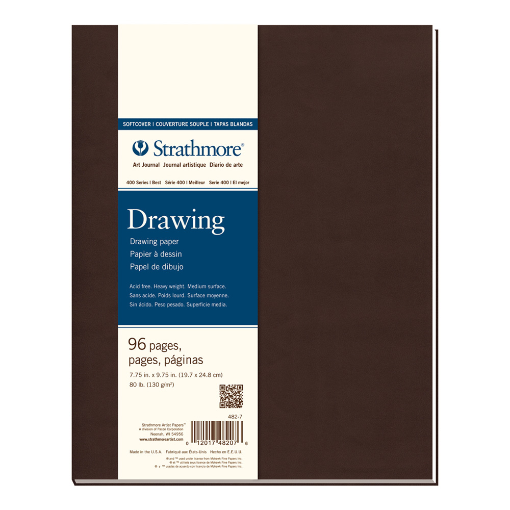 Strathmore 400 Softcover Drawing 7.75X9.75