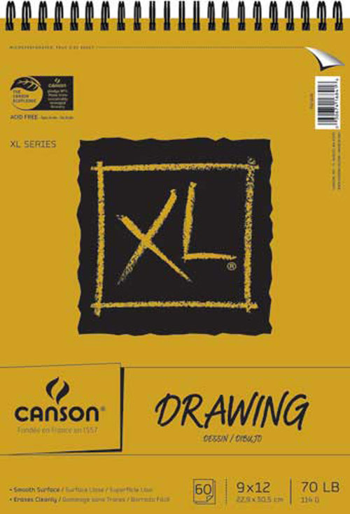 Canson Xl Drawing Pad 9X12