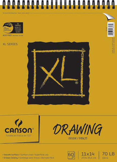 Canson Xl Drawing Pad 11X14
