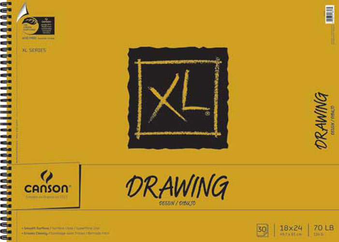 Canson Xl Drawing Pad 18X24