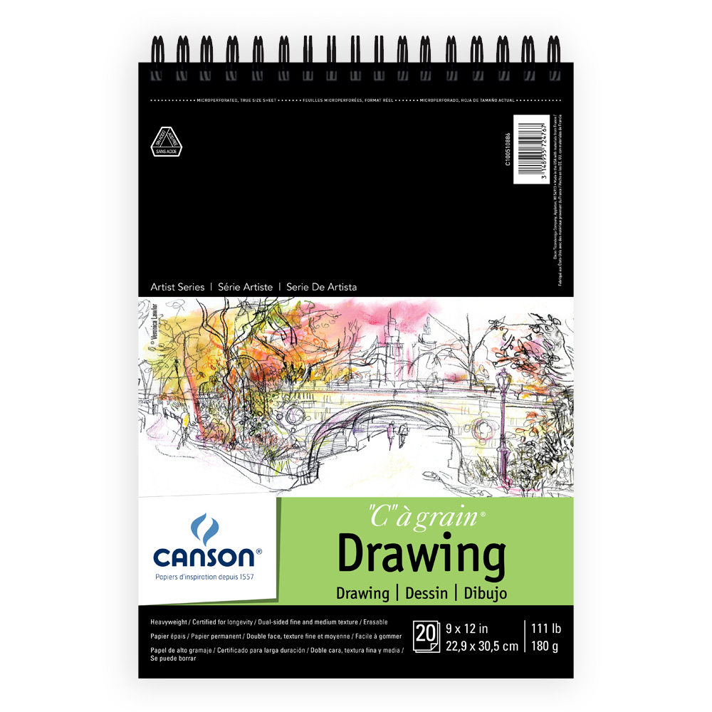 Canson C'A Grain Drawing Pads