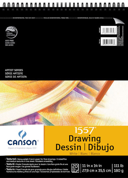 C'a Grain Drawing Pad 11X14 20/Sheets