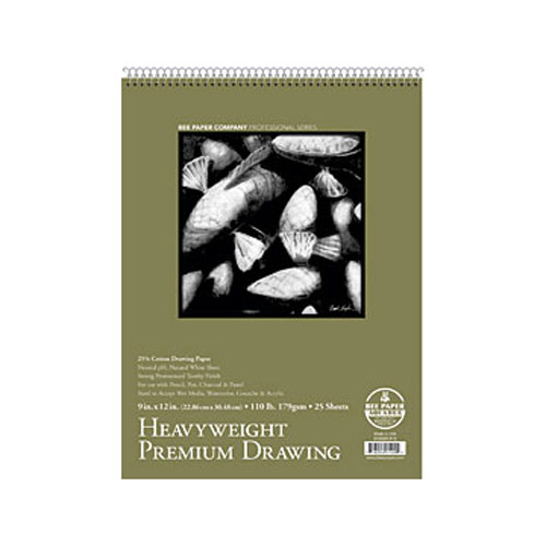 Bee Paper Heavyweight 110# Drawing Pad 9X12