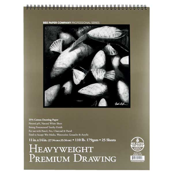 Bee Paper Heavyweight 110# Drawing Pad 11X14